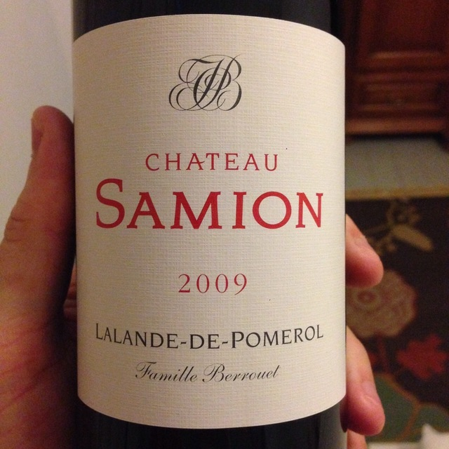 Lalande-de-Pomerol  Red Bordeaux Blend  2013