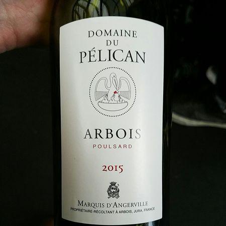 Domaine du Pélican Arbois Poulsard Pinot Noir Blend 2015