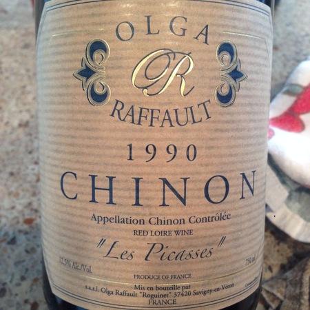 Olga Raffault Les Picasses Chinon Cabernet Franc 1990