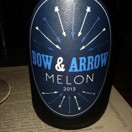 Bow and Arrow 'Melon' Melon de Bourgogne 2015