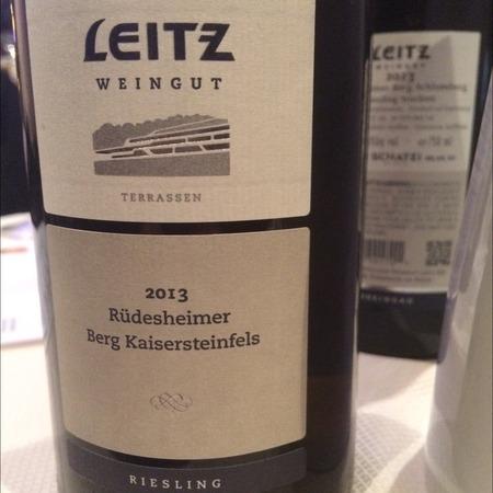 Weingut Josef Leitz Rudesheimer Berg Kaisersteinfels Terrassen Riesling 2015