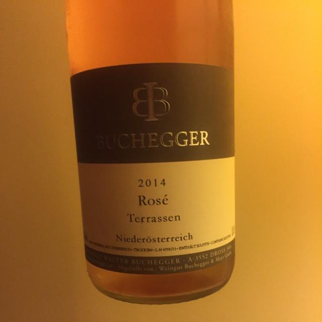 Terrassen Pinot Noir Rosé Blend 2014