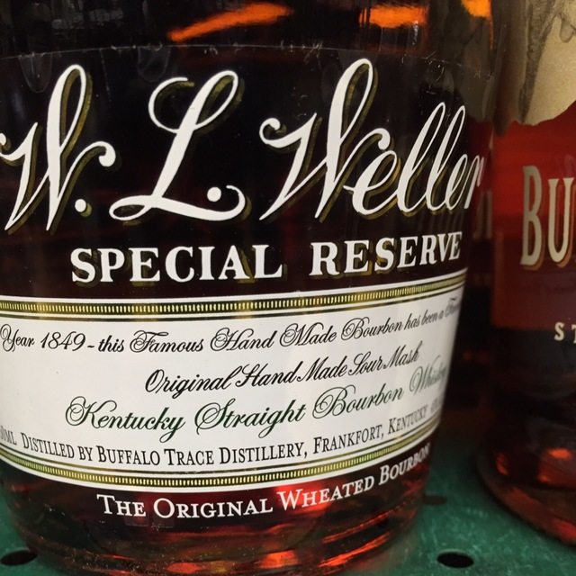 W.L. Weller Special Reserve Original Wheated Kentucky Straight Bourbon Whiskey NV