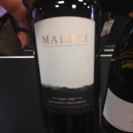 Malpei Winery Semi-Dry Malvasia Volcanica  2014