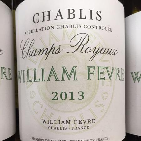 Domaine William Fèvre Champs Royaux Chablis Chardonnay 2015