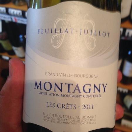 Domaine Feuillat-Juillot Les Crêts Montagny Chardonnay 2014