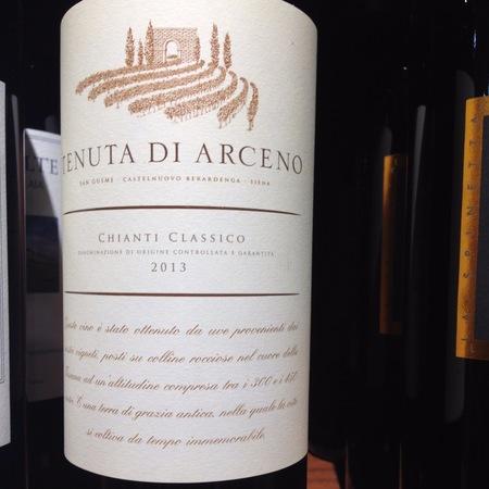 Tenuta di Arceno Chianti Classico Sangiovese Blend 2013