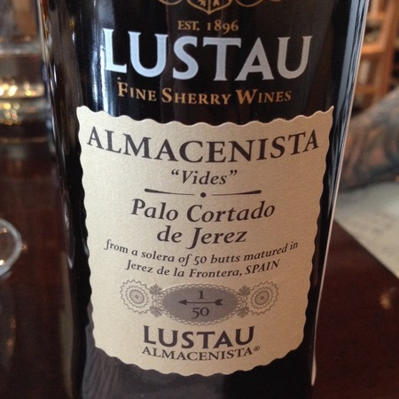 Emilio Lustau Fine Old Rare Sherry Palo Cortado de Jerez 1/50 Vides Jerez-Xérès-Sherry Palomino Fino NV