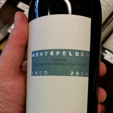 Montepeloso Eneo Toscana Sangiovese Blend 2013