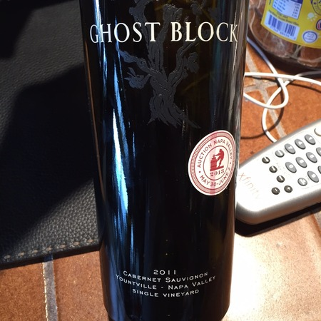 Ghost Block Single Vineyard Yountville Cabernet Sauvignon 2014