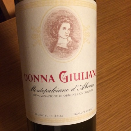 Donna Giuliana Montepulciano d'Abruzzo 2013