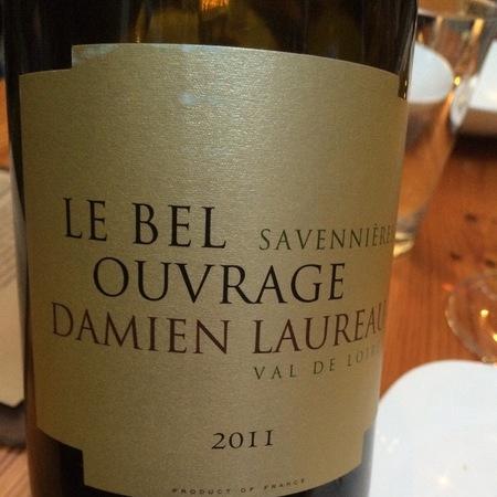 Damien Laureau Le Bel Ouvrage Savennières Chenin Blanc 2011