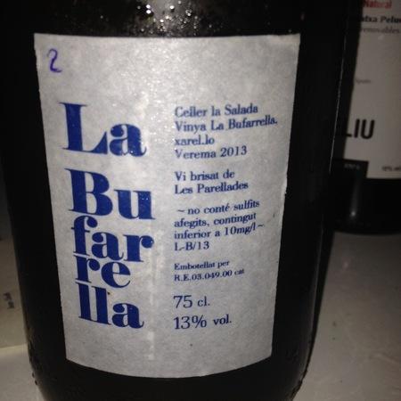 Celler La Salada Vinya La Bufarrella Xarel-lo 2015