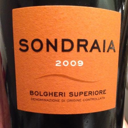 Poggio al Tesoro Sondraia Bolgheri Superiore Cabernet Sauvignon Blend 2013