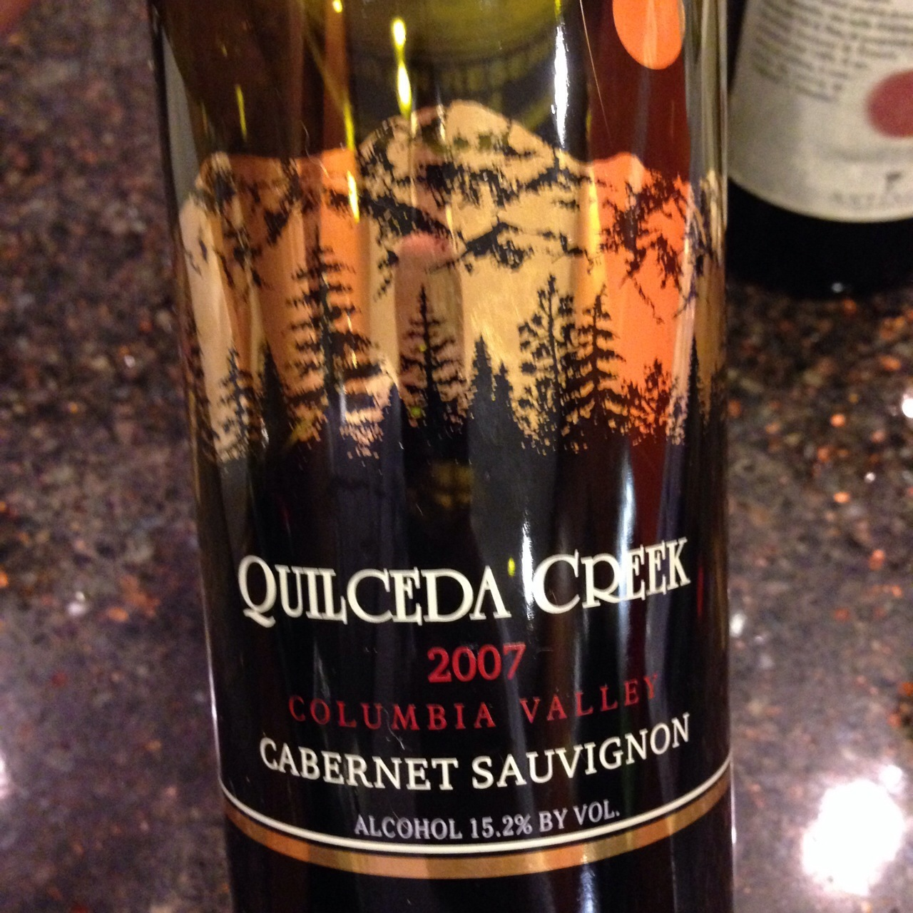 Quilceda Creek Columbia Valley Cabernet Sauvignon 2007 Chambers Street Wines
