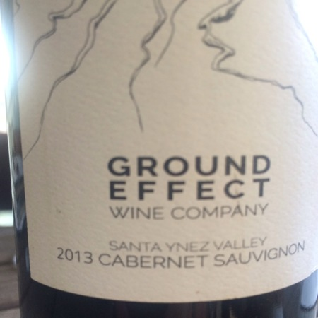 Ground Effect  Santa Ynez Valley Cabernet Sauvignon 2014
