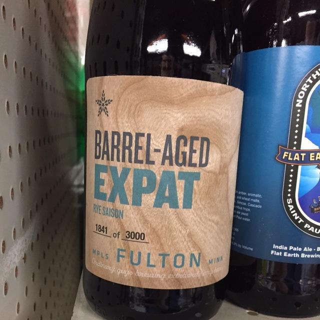 Expat Barrel-Aged Rye Saison NV