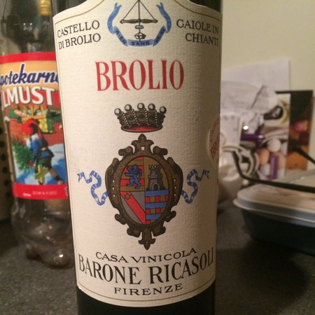 Barone Ricasoli Brolio Chianti Sangiovese Blend 1964