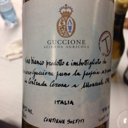 """Azienda Agricola Manfredi Guccione Vino Bianco """"T"""" Trebbiano 2013"""