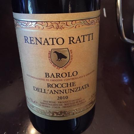 Renato Ratti Rocche dell'Annunziata Barolo Nebbiolo 2013