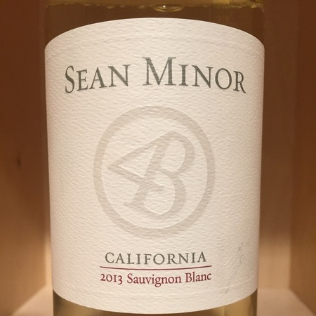 Sean Minor Four Bears California Sauvignon Blanc 2015