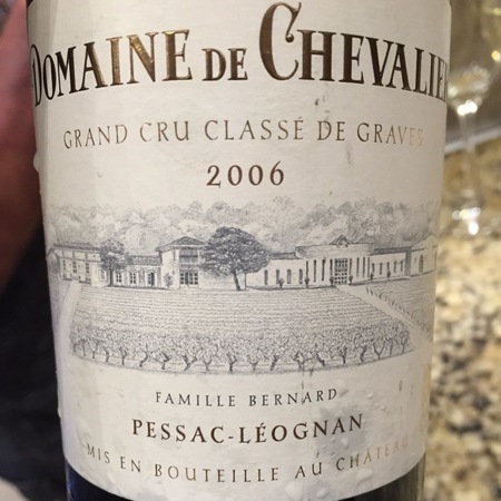 Domaine de Chevalier Pessac-Léognan Red Bordeaux Blend 2006