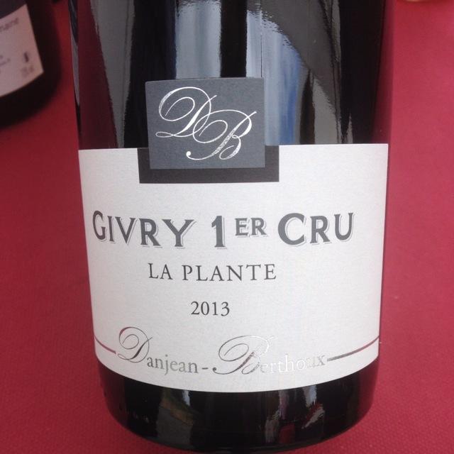 La Plante Givry 1er Cru Pinot Noir 2013