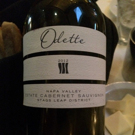 Odette Estate Stags Leap District Cabernet Sauvignon 2014
