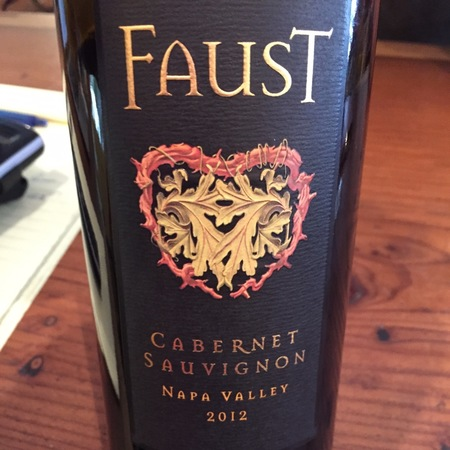 Faust Napa Valley Cabernet Sauvignon 2014 (750ml 12bottle)