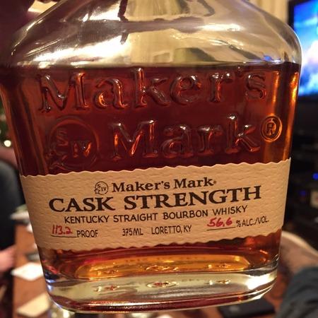 Maker's Mark Cask Strength Kentucky Straight Bourbon Whisky NV