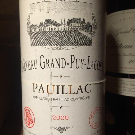 Château Grand-Puy-Lacoste Pauillac Red Bordeaux Blend 2015 (3000ml)