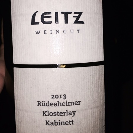 Weingut Josef Leitz Rüdesheimer Klosterlay  Kabinett Riesling 2016