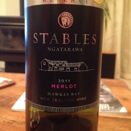 Ngatarawa Stables Merlot 2011