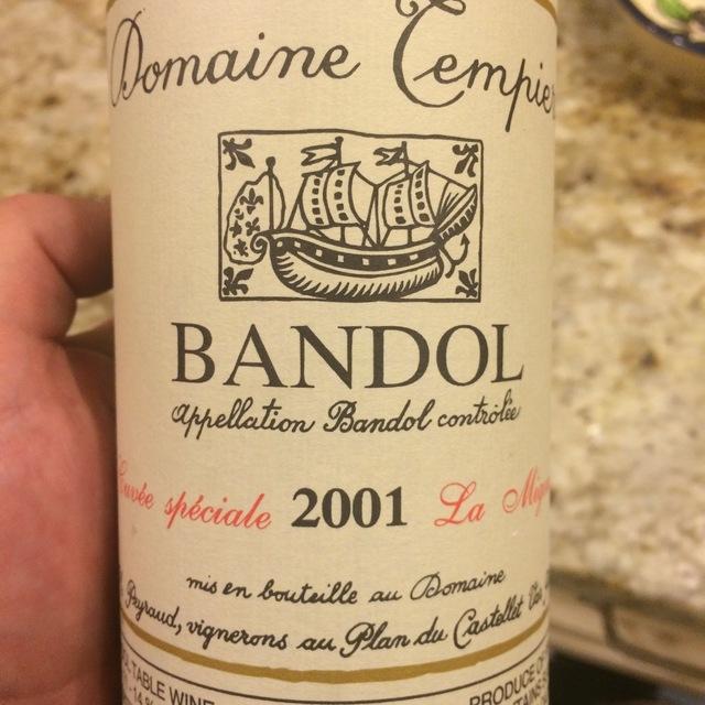 Cuvée Spéciale La Migoua Bandol Mourvedre Blend  2013