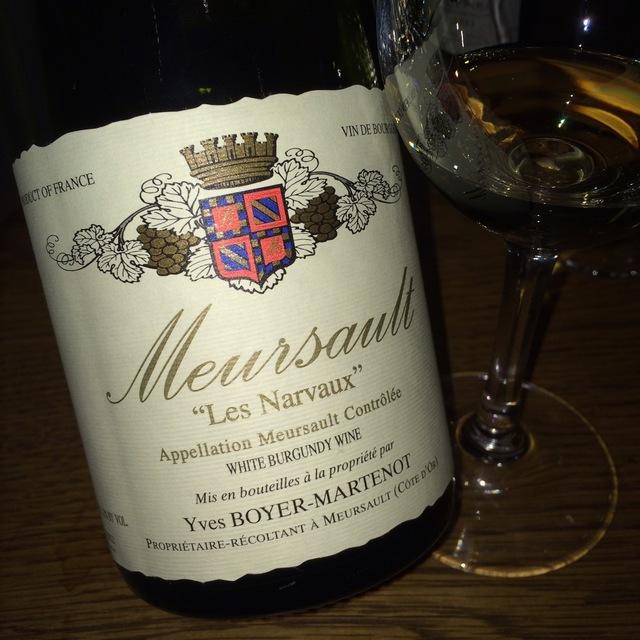Les Narvaux Meursault Chardonnay 2013