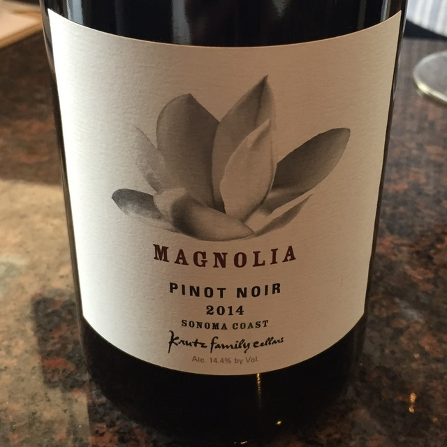 Magnolia Sonoma Coast Pinot Noir 2014