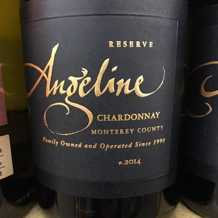 Angeline Winery Reserve Monterey County Chardonnay 2016
