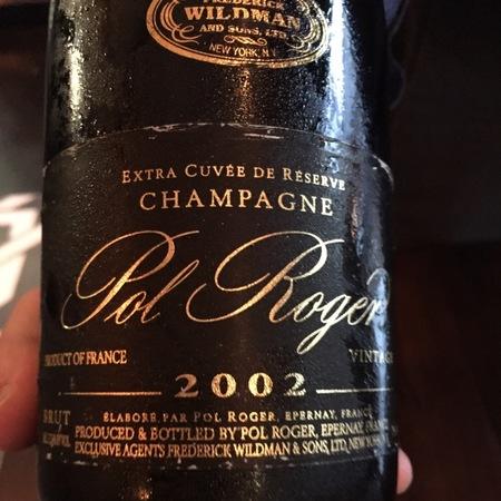 Pol Roger Extra Cuvée De Réserve Vintage Brut Champagne 2006