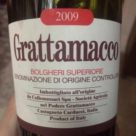 Grattamacco Bolgheri Superiore Red Blend 2009