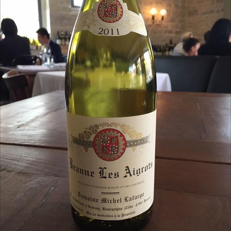 Domaine Michel Lafarge Les Aigrots Beaune 1er Cru Pinot Noir 2011