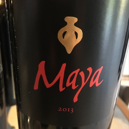 Dalla Valle Vineyards Maya Cabernet Franc Cabernet Sauvignon 2013
