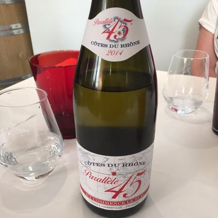 Paul Jaboulet Aîné Parallèle 45 Côtes du Rhône Grenache Syrah 2014
