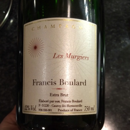 Francis Boulard Les Murgiers Extra Brut Champagne NV