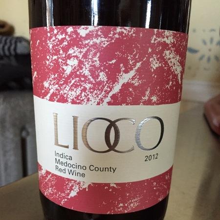 Lioco Indica (Red) Mendocino County Carignan 2013
