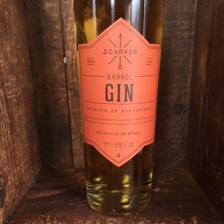 J. Carver Distillery Spirits of Discovery Barrel Gin NV
