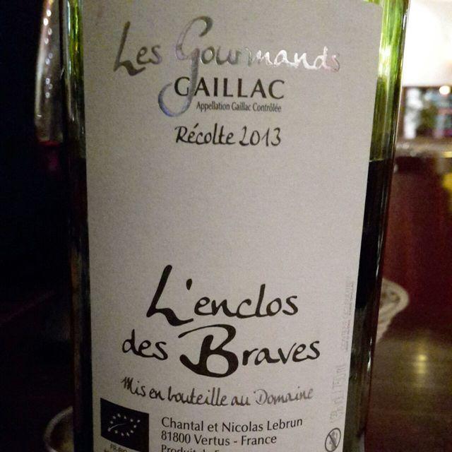 Les Gourmands Gaillac White Blend  2013