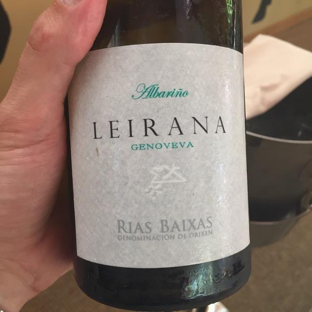 Leirana Rias Baixas Albariño 2013