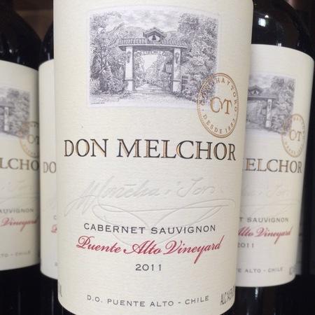 Concha y Toro Don Melchor Puente Alto Vineyard Cabernet Sauvignon 2011