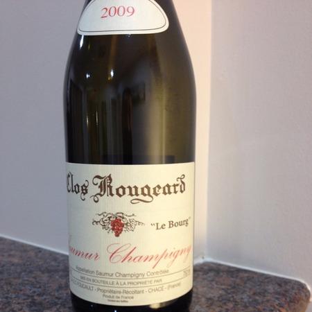 Clos Rougeard Le Bourg Saumur-Champigny Cabernet Franc 2009