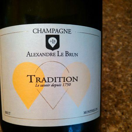 Alexandre Le Brun Tradition Brut Champagne Blend NV